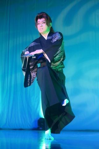 身体で紡ぐ物語:劇団炎舞 橘炎鷹座長『佐渡の恋唄』@京橋(10/9)