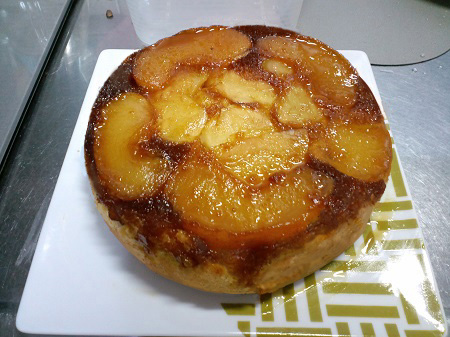 リンゴケーキ完成3