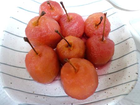 姫リンゴたち
