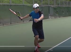 tennis takeback