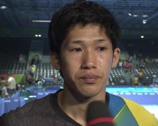 吉村真晴、涙のインタビュー