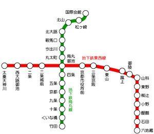 地下鉄路線図