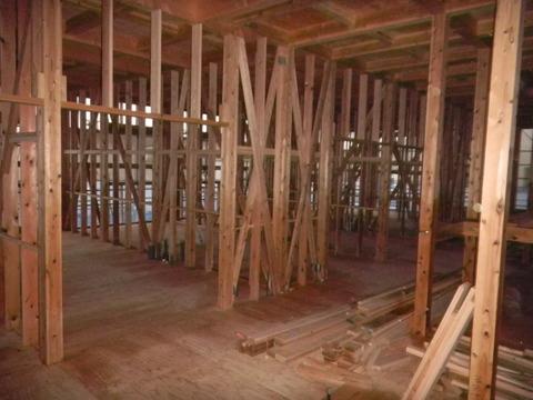 新築デイサービスセンターのシロアリ予防工事現場9