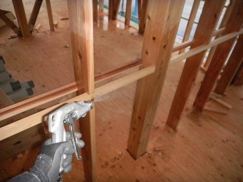 新築デイサービスセンターのシロアリ予防工事現場6