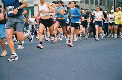 マラソン ナンバーカード ゼッケン