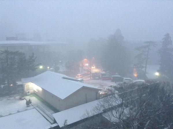 箱根駅伝 大雪 積雪