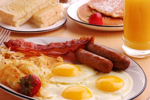 朝食 1日2食
