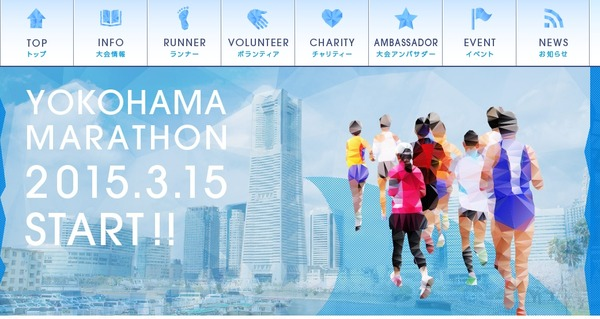 横浜マラソン 2015 渋滞 レース