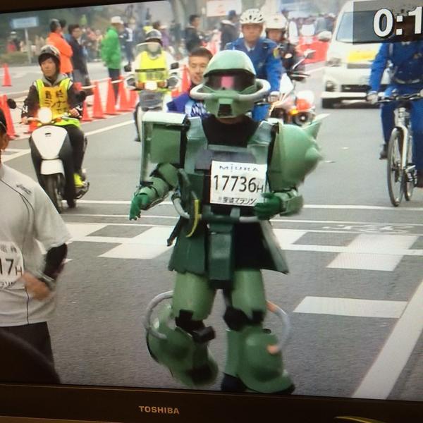 愛媛マラソン ザク
