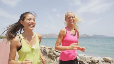 ジョギング ランニング 挨拶
