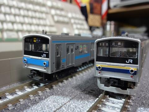 205系京阪神緩行色_前面3
