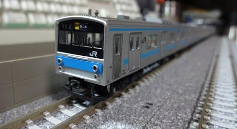 205系京阪神緩行色_全景