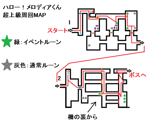 【白猫】さいかわ猫イベント超上級の周回MAP作ってみた!【プロジェクト】