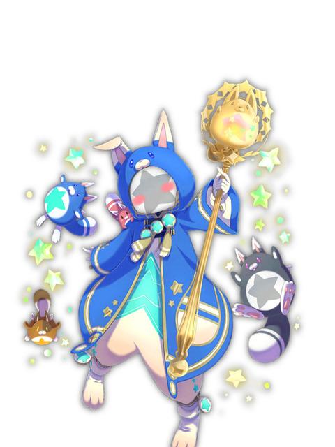 【白猫】ポンちゃんの着ぐるみコラが流行!狸着ぐるみきたキャラ達が可愛いwwwww【プロジェクト】