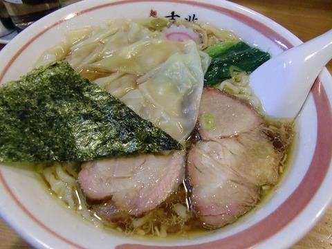 麺壱 吉兆@戸越 ワンタン麺