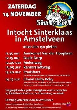 Sinterklaas-Amstelveen