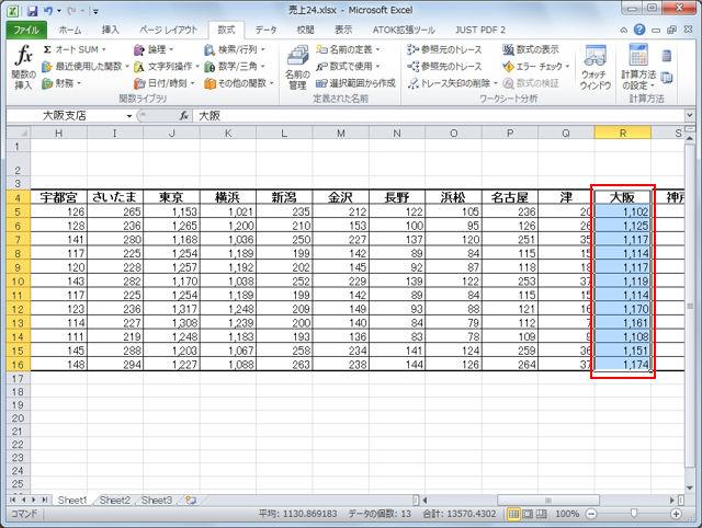 データ管理のコツ! Excelで範囲に名前を付ける【知っ得!虎の巻】