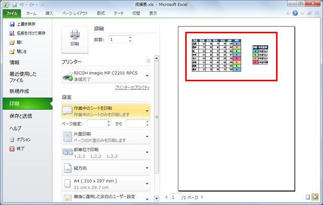 Excelでは、「印刷範囲」を設定することで、一部分だけを印刷するよう限定することができる。しかし、いったん設定したものの、場合によってはシート内の内容をすべて印刷したいこともあるだろう。そんな時は一時的に設定を無視してしまおう。