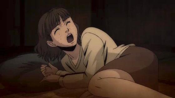 アニメ - 伊藤潤二『コレクション』 第10話 感想:声の可愛いユイちゃん無事で良かった!