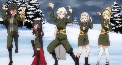 アニメ - 《メルヘン・メドヘン》8話感想・画像 ロシアチームアホ可愛くて最高だった