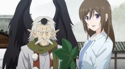 アニメ - 《かくりよの宿飯》2話感想・画像 マジで無茶苦茶やってたのな爺さん