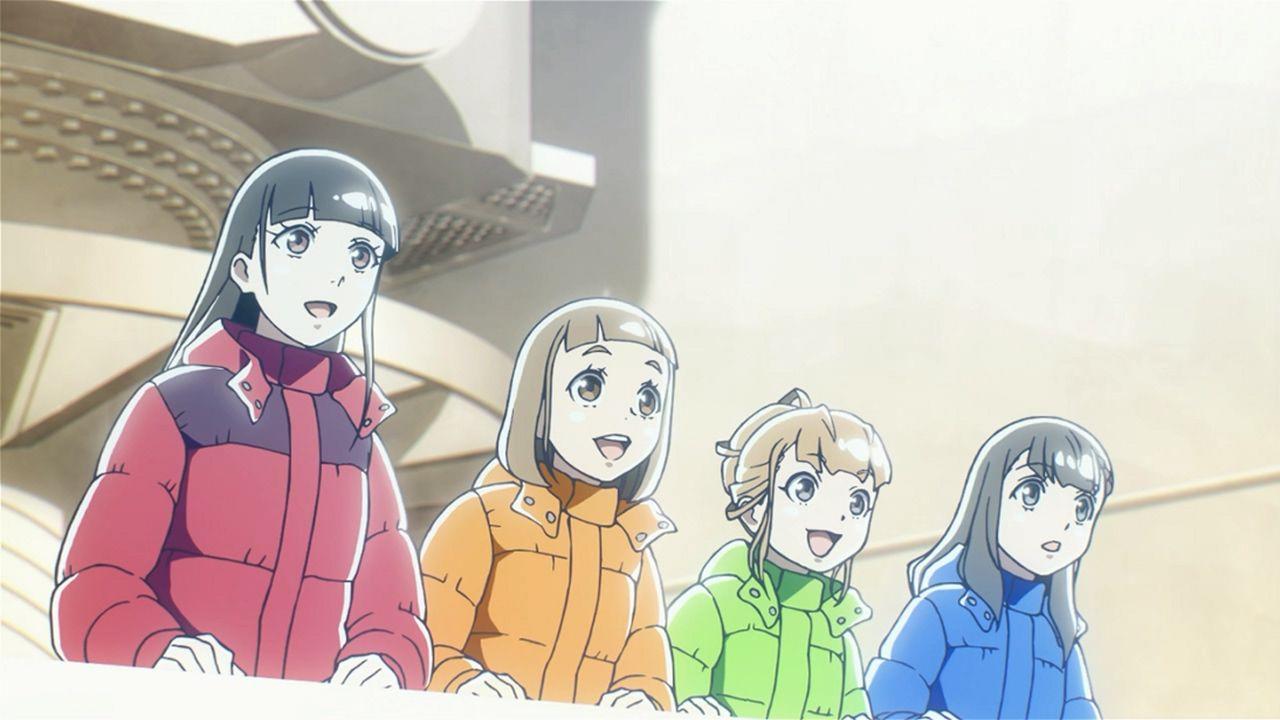 アニメ - 宇宙よりも遠い場所(第8話)海外の反応