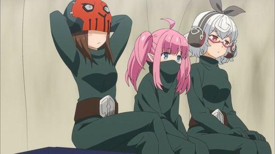 ラストピリオド -終わりなき螺旋の物語- 第9話 感想:ワイズマン幹部から平戦闘員へ降格でピンチ!