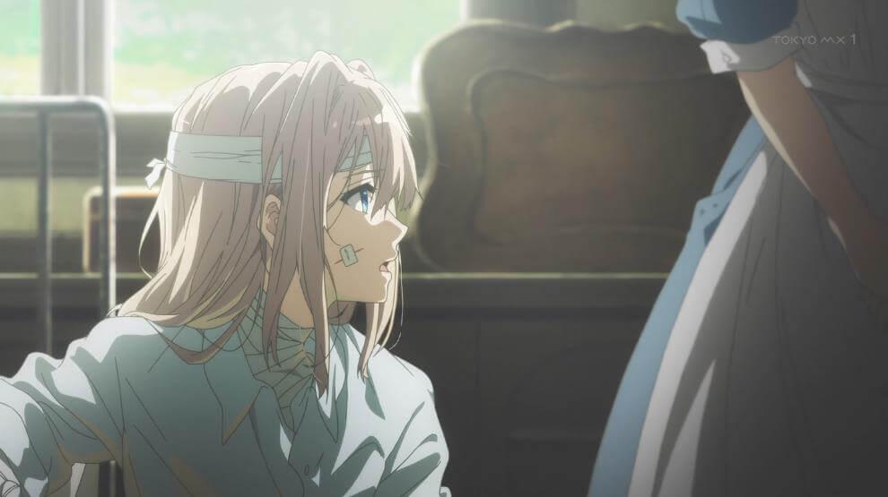 アニメ - 『ヴァイオレット・エヴァーガーデン』第1話 感想 「愛してる」の意味を知る物語