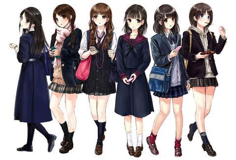 アニメ - 【画像】女子高生ってほんと素晴らしいよね