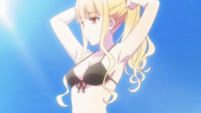 アニメ - 【ラーメン大好き小泉さん】 第3話 キャプ感想 水着でラーメンの意味とは!? 家ラーメンで、悠ちゃんと小泉さんの距離が少し近づいた♪