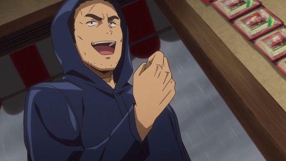 アニメ - だがしかし2 第2話 感想:台風で田んぼ様子見てくるはフラグでヤバイ!