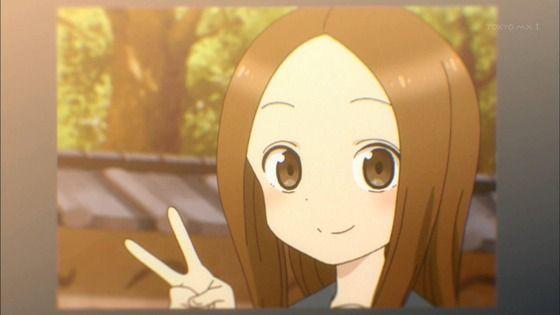 アニメ - からかい上手の高木さん 第9話 感想:西片くん高木さんの写真でメモリいっぱいになりそう!