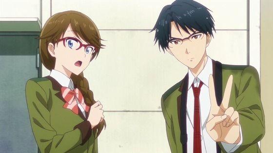 アニメ - 多田くんは恋をしない 第2話 感想:写真部の部長と委員長の仲も気になる感じ!