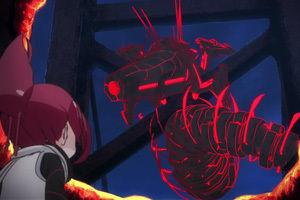 アニメ - 【ケムリクサ】4話感想 ヌシと迫真の戦闘!わかばが人類の叡智と勇気を見せた