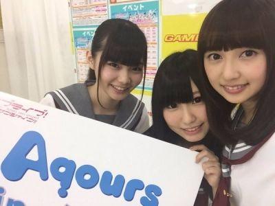 【ラブライブ!】aqours3年生キャストの楽屋の会話www