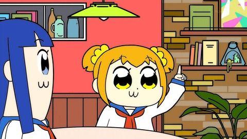 アニメ - 【ポプテピピック】第9話 感想 言葉の壁を越えろ!字幕付き親切仕様のクソアニメ!