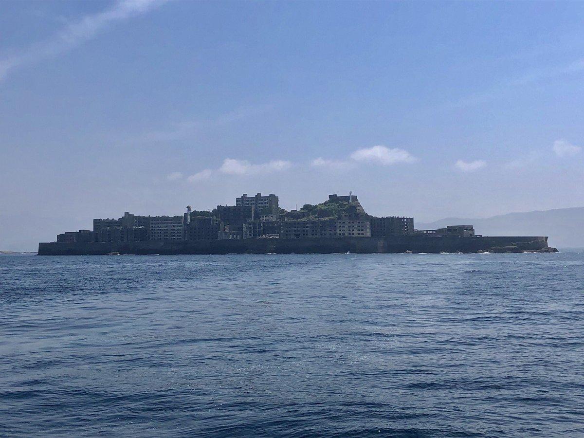 アニオタ - ケムリクサ 聖地巡礼 in 軍艦島