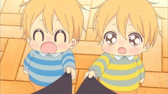 アニメ - 学園ベビーシッターズ 第3話 感想:忙しいパパさんは寝てる子供にしか会えないらしいね!