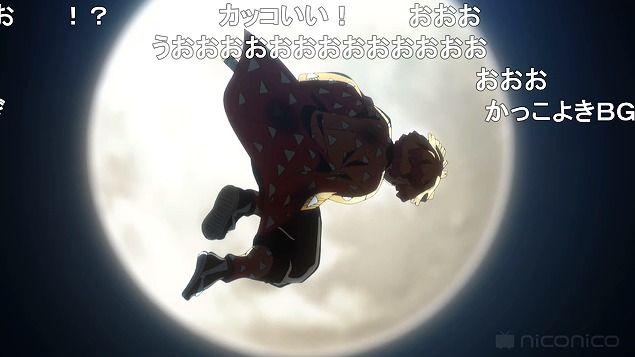 アニメ - 【鬼滅の刃 17話 ニコ生】 善逸の雷の呼吸でアンケ2クール目最高値を達成