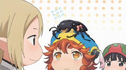 アニメ - 『ハクメイとミコチ』7話感想 都会に憧れる系クワガタ女子