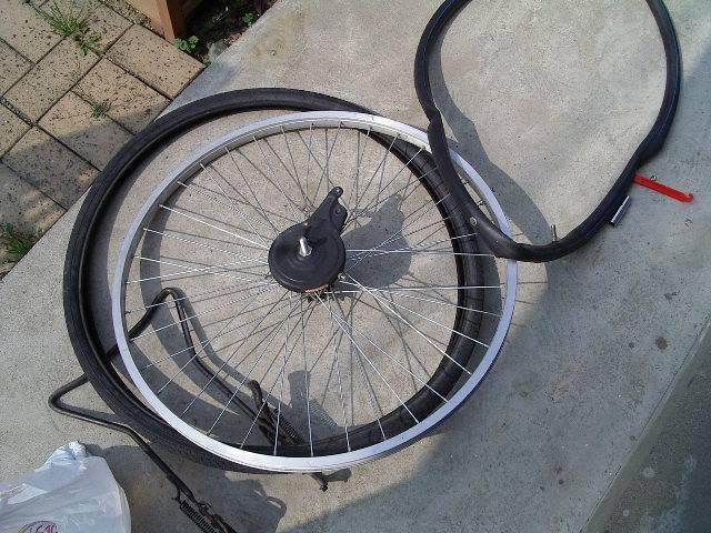 ... :自転車のタイヤチューブ交換