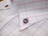 ピンクのボタンダウンシャツ605-8817_02