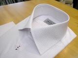 オーダーシャツ/白+紫02