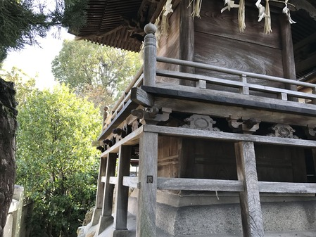 沖田神社 道通宮