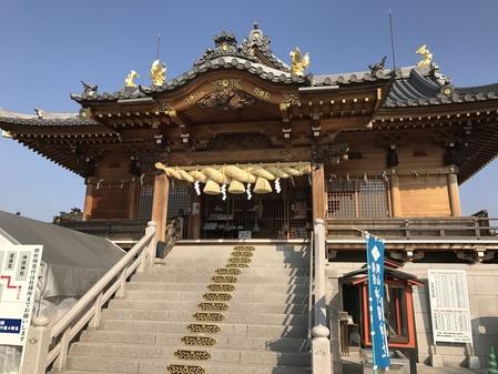 沖田神社 拝殿