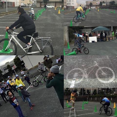 サイクルジムカーナ写真
