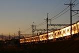 夕焼け電車-1
