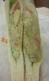 香草ポテサラサンド