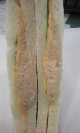 ツナチーズサンド