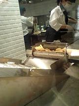ポテチ作り中